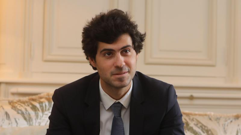 Victor Habert-Dassault, candidat à la députation dans la 1re circonscription de l'Oise.