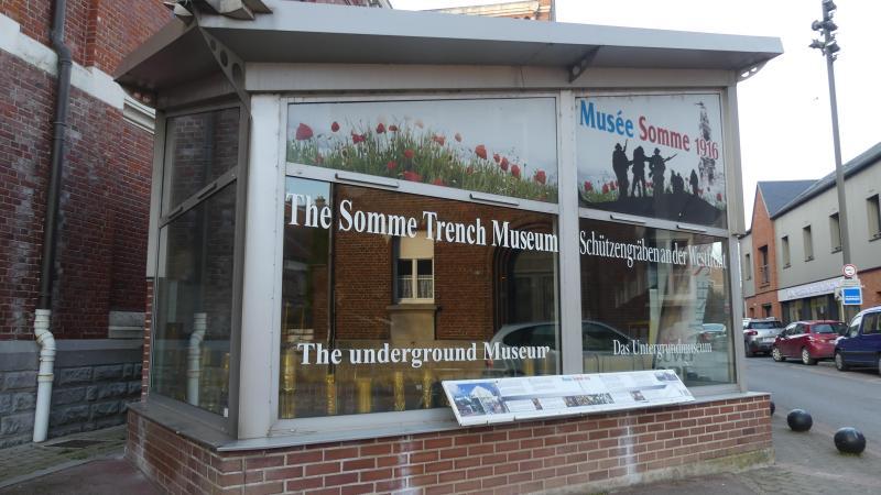 L'office de tourisme va s'installer dans le hall du musée Somme 1916, situé tout près de la basilique.