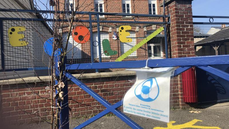L'école de Querrieu, fermée depuis le 18 mars doit rouvrir ce vendredi matin.