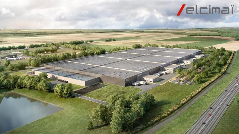 La société Elcimaï est porteuse d'un projet de commercialisation de cellules au sein d'une plateforme logistique de près de 120 000 m² sur la ZAC des Bornes du Temps II.