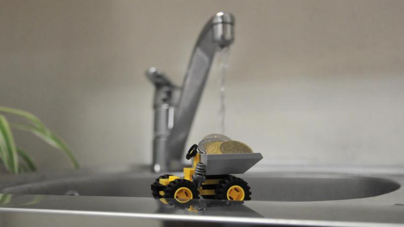 Si l'opposition approuve globalement le choix des investissements, le prix de l'eau payé par le contribuable pose toujours problème.