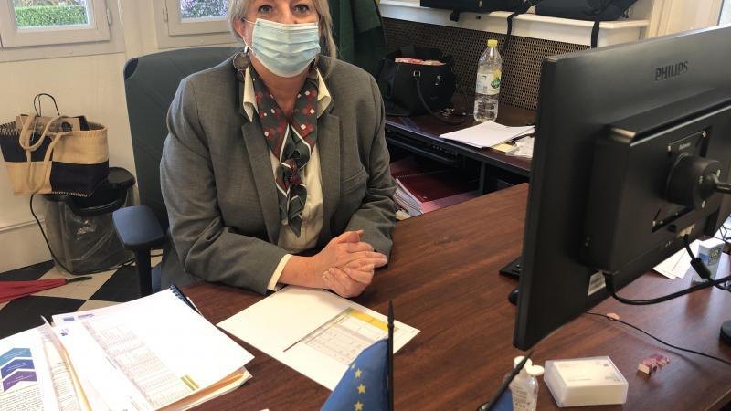 Emmanuelle Louise veut notamment relancer des partenariats avec la mairie de Doullens et l'association La Citadelle pour ancrer l'Epide dans la vie de la commune.