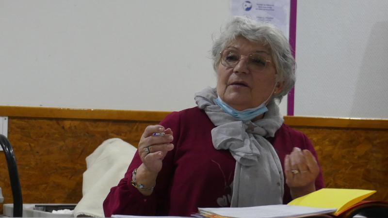 Carmen Bilon, présidente de Sans Offshore à l'horizon.