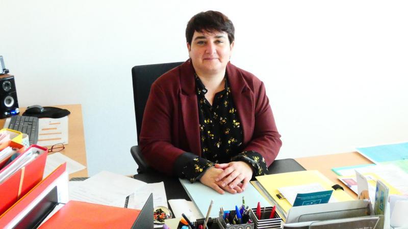 Hélène Perlerin, nouvelle proviseure du lycée Peltier, est en déléguation rectorale pour un an.