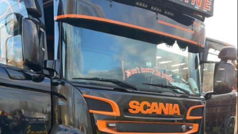Le camion trafiqué faisait des pointes de vitesse à 147 km/h !