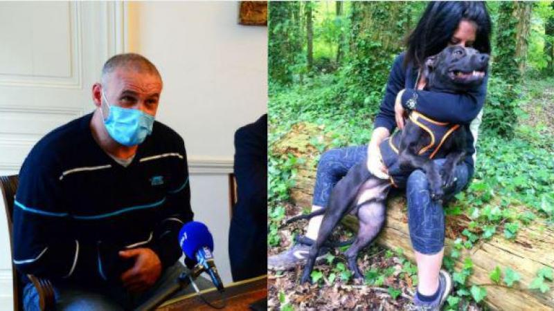 Christophe Ellul était le compagnon d'Elisa Pilarski, morte des suites des morsures canines, vraisemblablement celles de Curtis, leur chien.