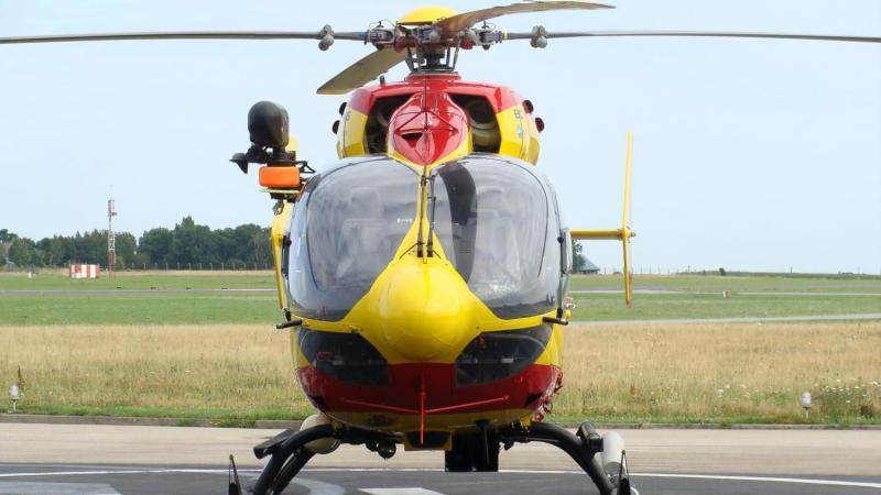 La victime a été transportée au CHU d'Amiens.