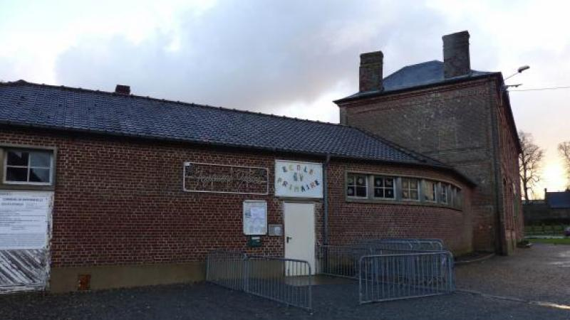 Une des quatre classes de l'école communale a été fermée: celle de maternelle.