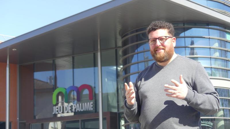 Julien Guedj est entrepreneur depuis 2005 et a ouvert sa boutique du Jeu de paume en 2018.