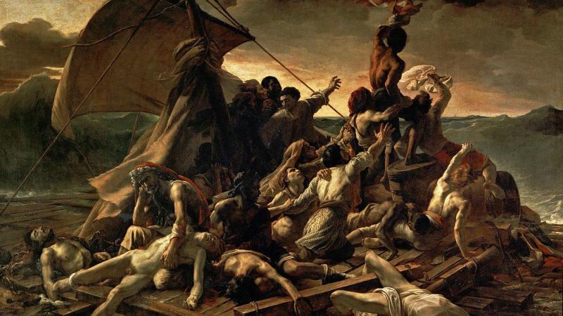 1280px-JEAN_LOUIS_THÉODORE_GÉRICAULT_-_La_Balsa_de_la_Medusa_(Museo_del_Louvre,_