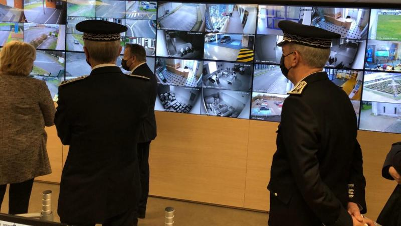 Le centre de videosurveillance avait été présenté au Premier ministre Jean Castex, le 5 mars dernier, lors de sa venue à Beauvais.