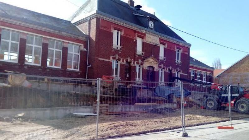 Les locaux de la maison médicale, attenants à la mairie ont été livrés en janvier 2021.