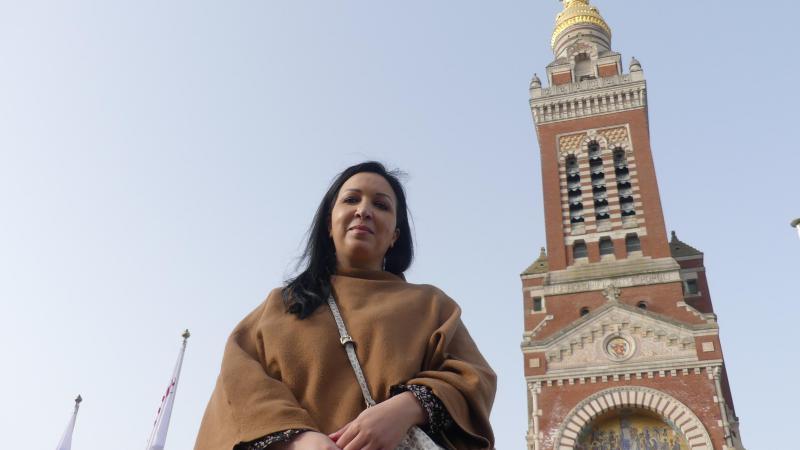 Fatima Farsi va être baptisée dans la basilique Notre-Dame de Brebières, à Albert, le jour de Pâques.