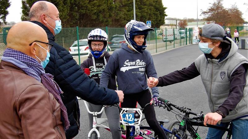 En BMX ou en trottinette, ils étaient nombreux à avoir répondu à l'invitation de Laurent Jacques.