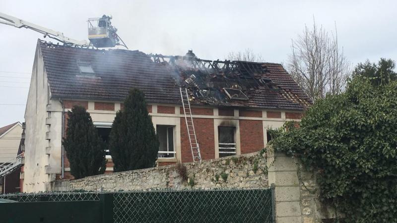 C'est dans cet immeuble qu'un incendie s'est déclenché dimanche matin.