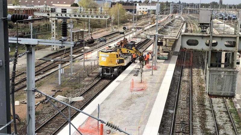 Le chantier doit se prolonger jusqu'au mois d'août, en attendant la suite en 2024 ou 2025.