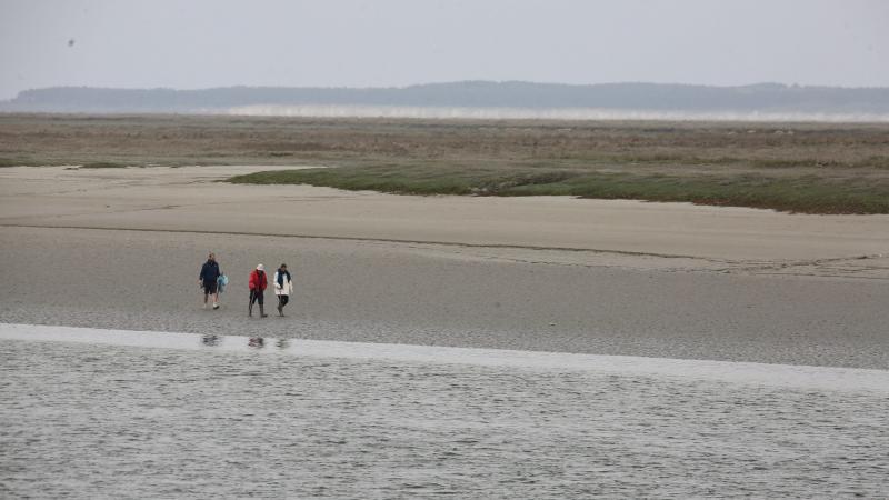 En Baie de Somme et sur la côte picarde, les grands espaces favorisent la distanciation.