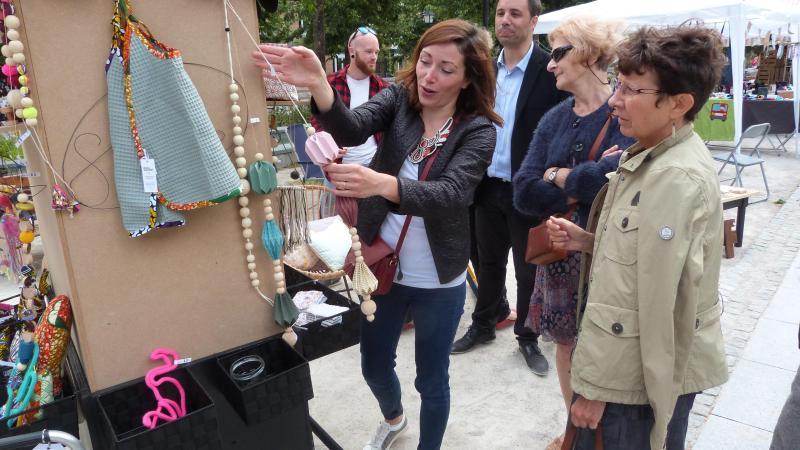 Un nouvel appel à candidature pour le marché des créateurs au jardin Dufau.