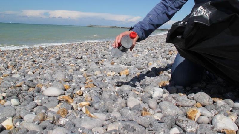 Le nettoyage des plages est organisé par le comité des fêtes d'Ault.
