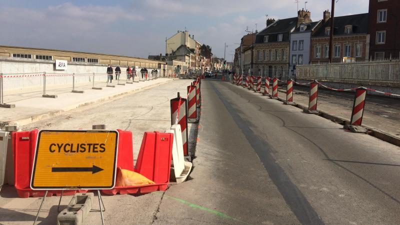 Les travaux d'étanchéification du pont Barni doivent reprendre ce mardi 6 avril.