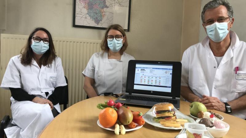 L'équipe du pôle de prévention et d'éducation de l'hôpital est convaincue de l'utilité de ce système.