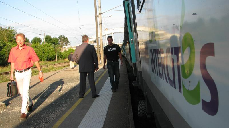 La municipalité plaide pour un trajet en «moins d'une heure» entre la gare et l'aéroport de Roissy.