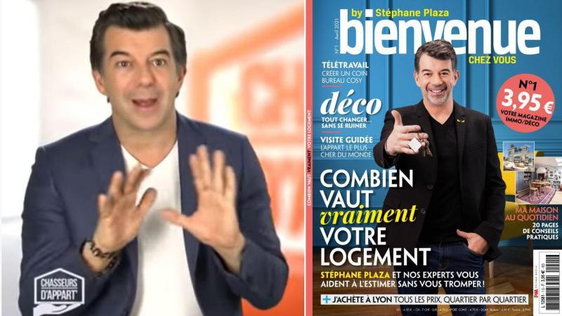 Le premier numéro de «Bienvenue chez vous by Stéphane Plaza» sera disponible le 8 avril au prix de 3,95€.