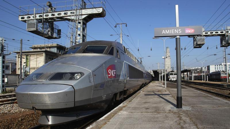 Le TGV doit débarquer dans la gare amiénoise en 2025 grâce à la réalisation du barreau Picardie-Roissy.