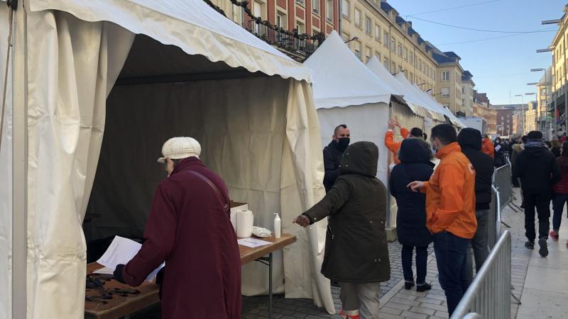 De nombreuses campagnes de test PCR et antigéniques déjà eu lieu à Amiens.