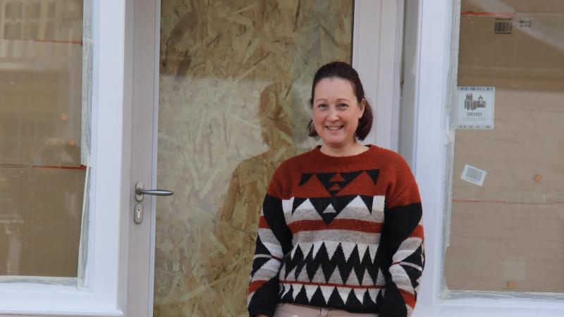 Hélène Bécu a créé il y a cinq ans LN Services, qui opère uniquement sur Ault.