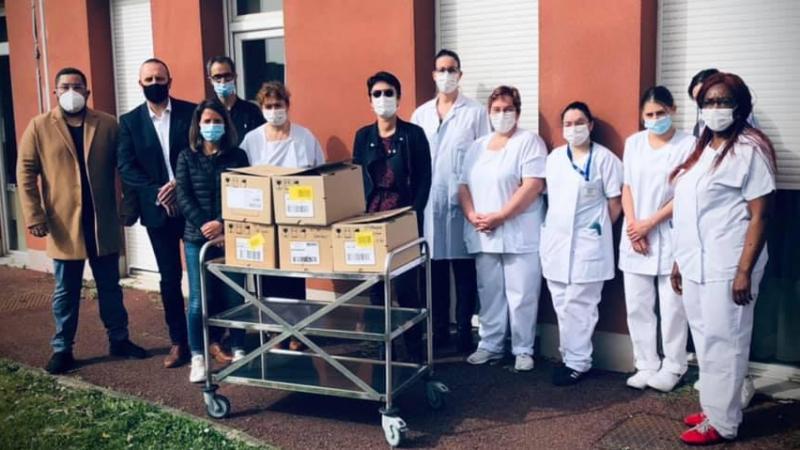 Les bénévoles mènent depuis fin mars une collecte pour Saint-François et Saint-Romuald.