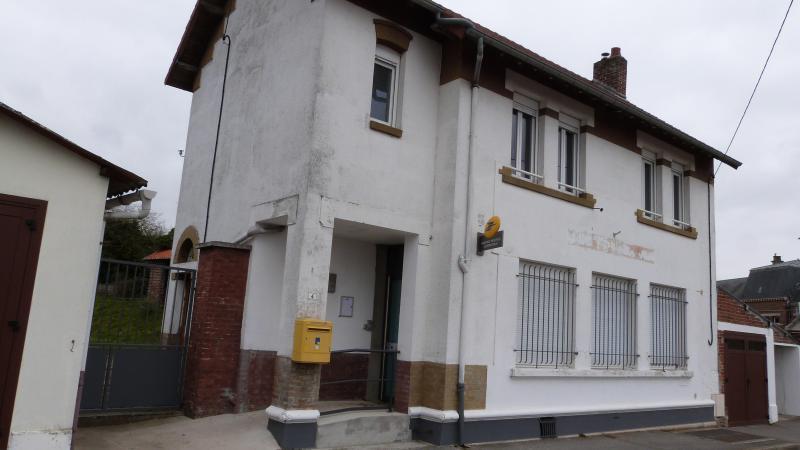 La Maison des associations était au-dessus de la Poste.
