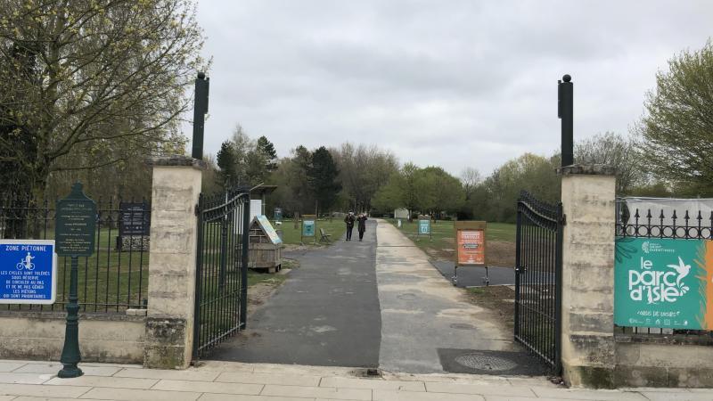 Les grilles de l'entrée principale seront fermées les 12 et 13 avril.