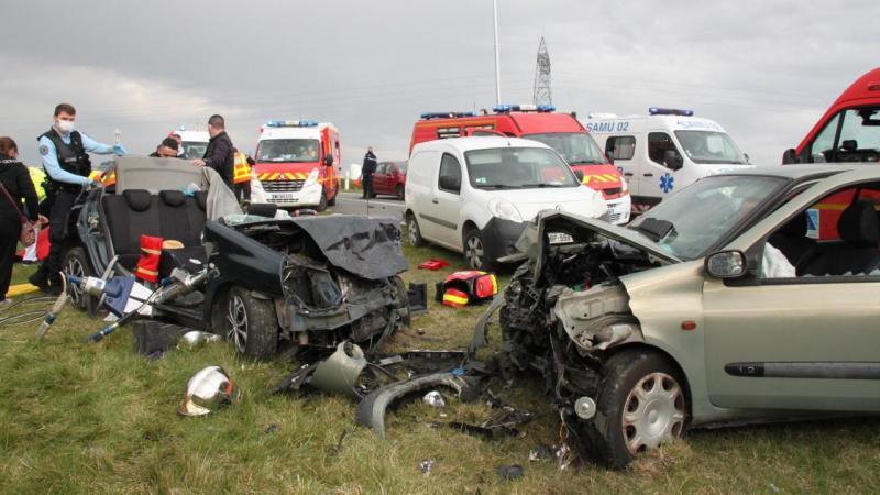 Après l'accident mortel survenu entre Saint-Quentin et Fresnoy-le-Grand, l'automobiliste a été mis en examen pour homicide involontaire.