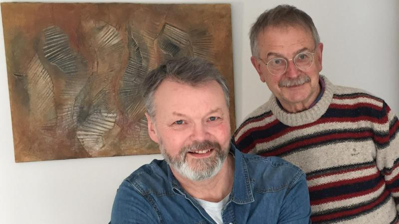 Stéphane-Jean C. et Michel Robakowski ont créé la chanson «Baie de Somme». (Photo DR)