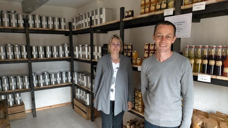 Les producteurs du Safran viennent d'ouvrir leur boutique, mais continuent de vendre à Eu dans un autre magasin de Criel.