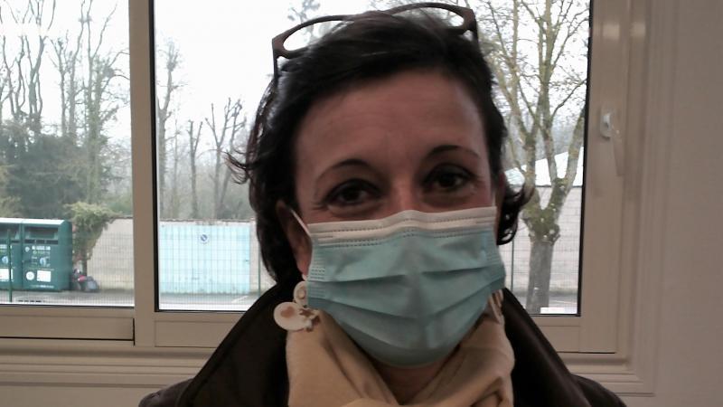 Sophie Bramard, vedette malgré elle de la séance de conseil municipal de Coudun, samedi.