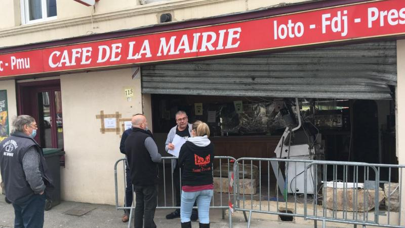 Le bar-tabac a été fracturé dans la nuit de dimanche 11 à lundi 12 avril.