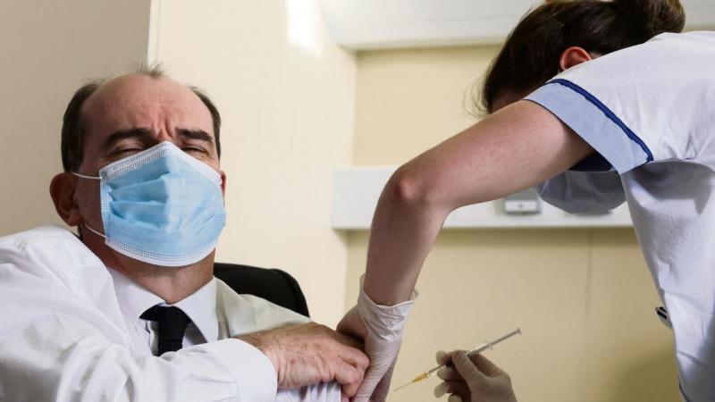 Le Premier ministre Jean Castex s'est fait vacciner devant les caméras le 19 mars dernier.