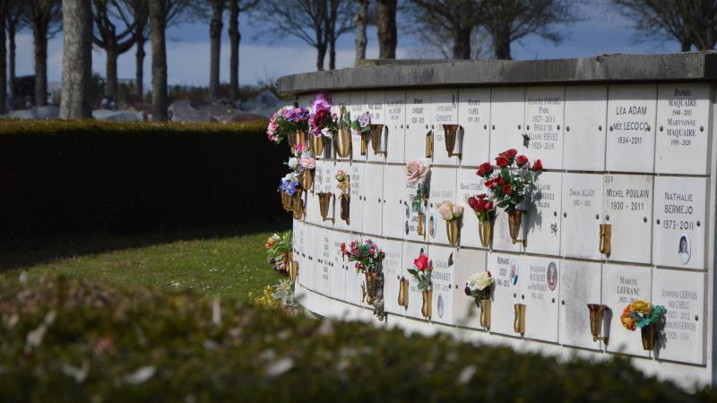 Un nouveau columbarium sera installé à côté du premier au cimetière Saint-Pierre.