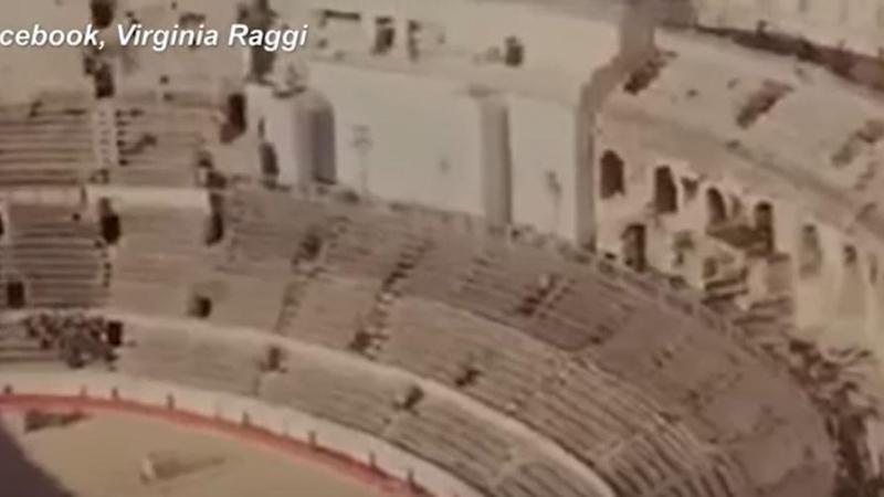 L'amphithéâtre romain de Nîmes pour représenter Roma ? L'erreur a fait rire les Romains.