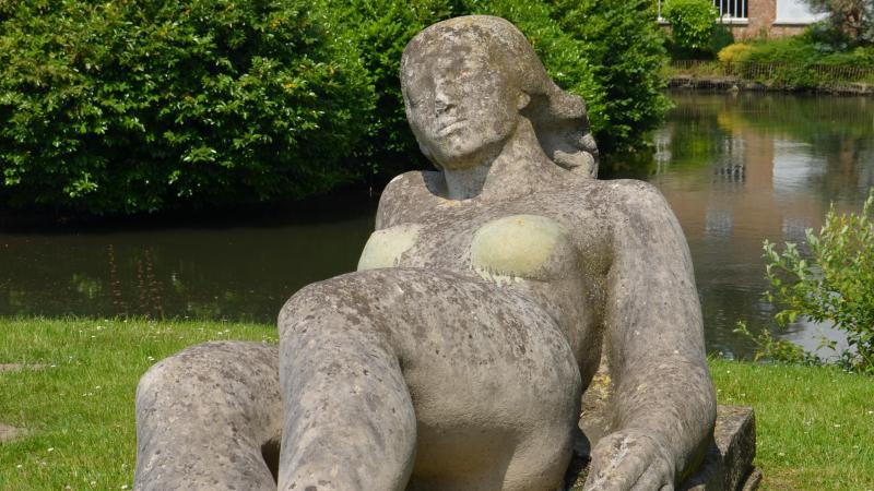 La statue de «La Femme nue» en bord de Somme est une allégorie de la Seine !