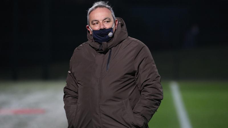 Fulvio Luzi refuse de se lamenter. «On vit simplement une saison noire à tous les niveaux et ça fait partie de l'histoire d'un club.» (Photo D.T.)