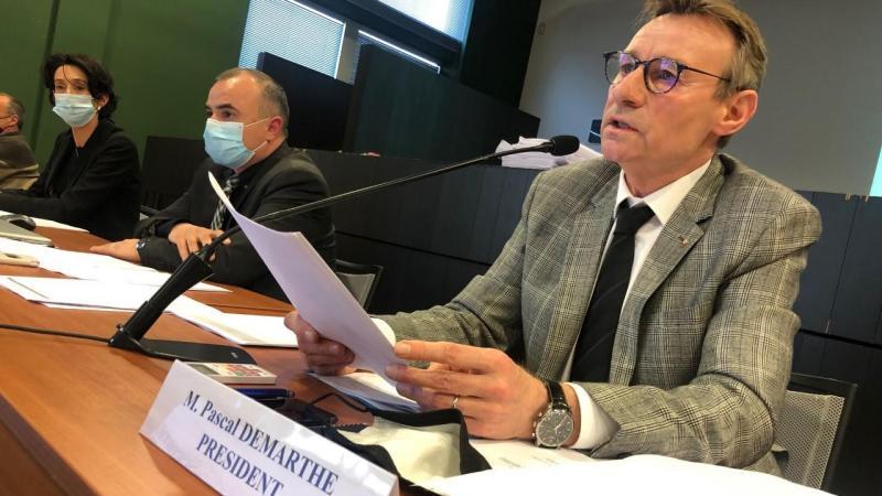 Pascal Demarthe, président de la communauté d'agglomération Baie de Somme, a fait un pas vers les communes rurales pour s'assurer une majorité et faire voter le budget.