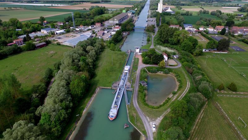 Le canal du Nord.