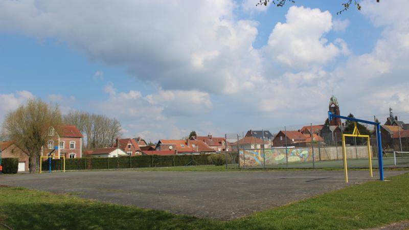 Le city stade devrait être aménagé sur l'actuel plateau sportif, en bas de la rue du Château, au lieu-dit «Pré wanègue».