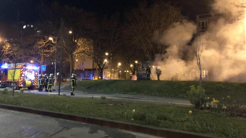 La situation est extrêmement tendue dans le quartier Etouvie depuis plusieurs mois. Ici, des violences urbaines commises en mars.