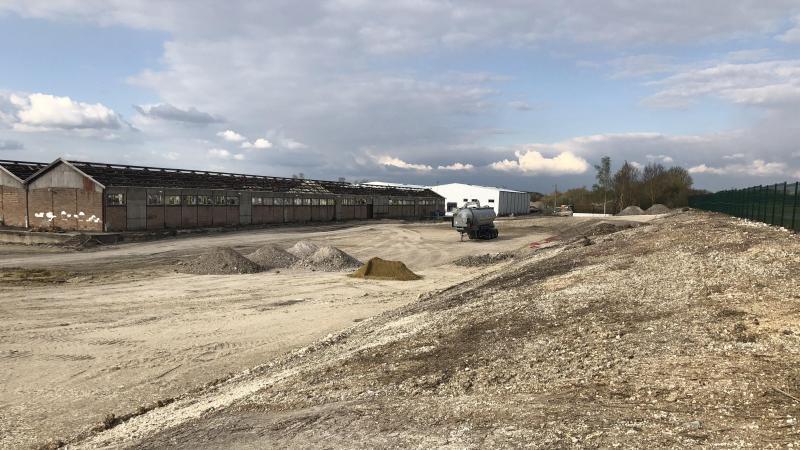 Nettoyée et dépolluée, l'ancienne zone de fret de la SNCF va devenir un centre de formation d'Aftral.