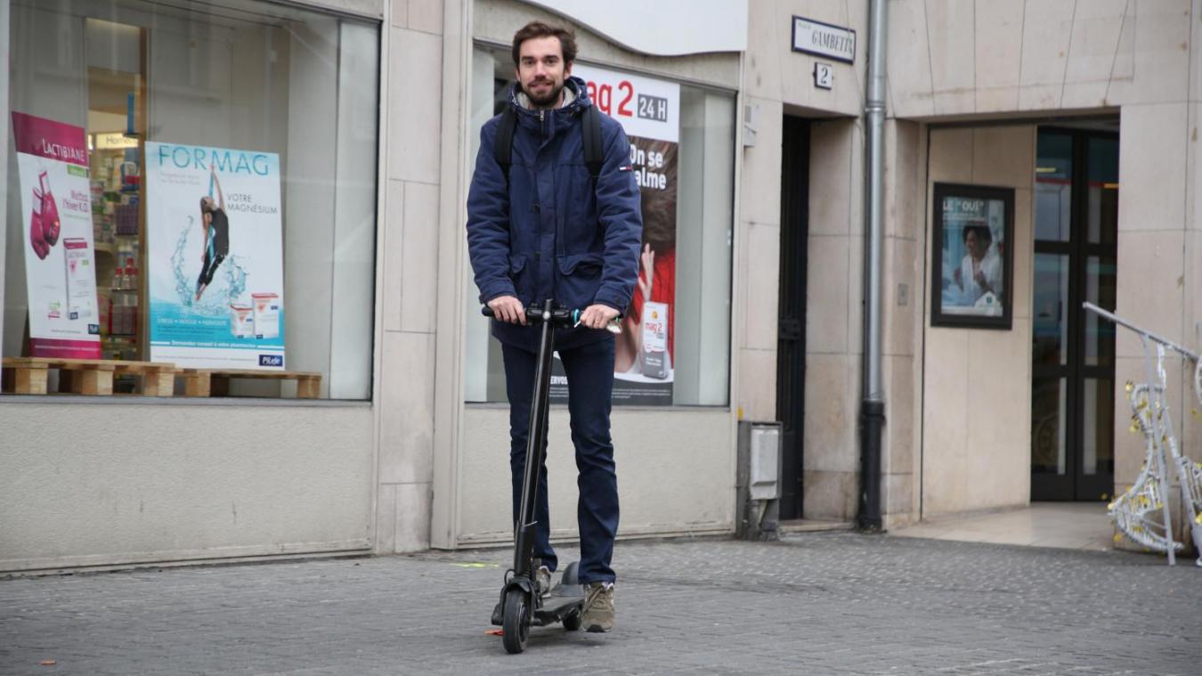 Des amendes pour les trottinettes électriques à Amiens ?
