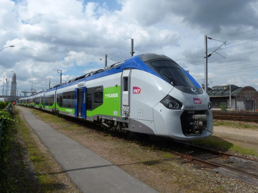 Grève SNCF ce lundi dans les Hauts-de-France